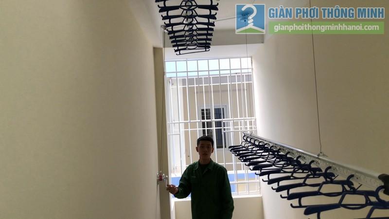 Lắp giàn phơi Hòa Phát Air 701 nhà chị Cúc, Hà Đông, Hà Nội - 07