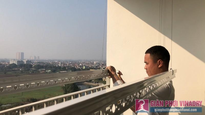 Lắp giàn phơi và lưới an toàn nhà chị Hồng,chung cư FLC Garden Đại Mỗ, Nam Từ Liêm, Hà Nội - 07