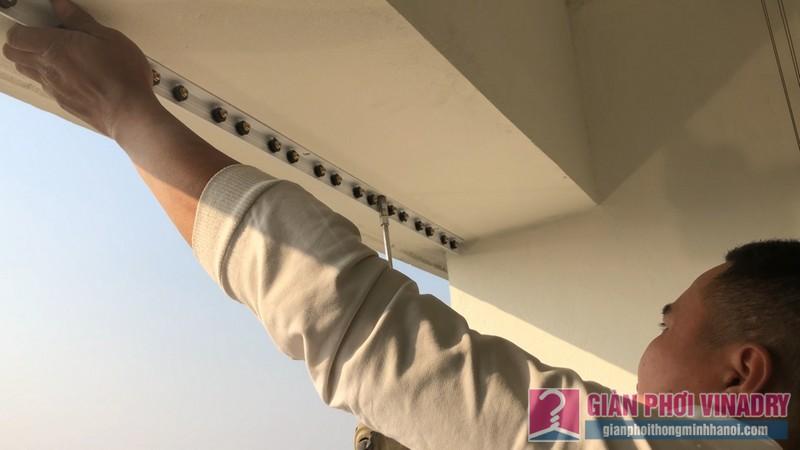 Lắp giàn phơi và lưới an toàn nhà chị Hồng,chung cư FLC Garden Đại Mỗ, Nam Từ Liêm, Hà Nội - 08