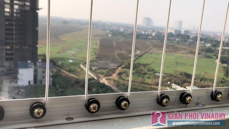 Lắp giàn phơi và lưới an toàn nhà chị Hồng,chung cư FLC Garden Đại Mỗ, Nam Từ Liêm, Hà Nội - 10