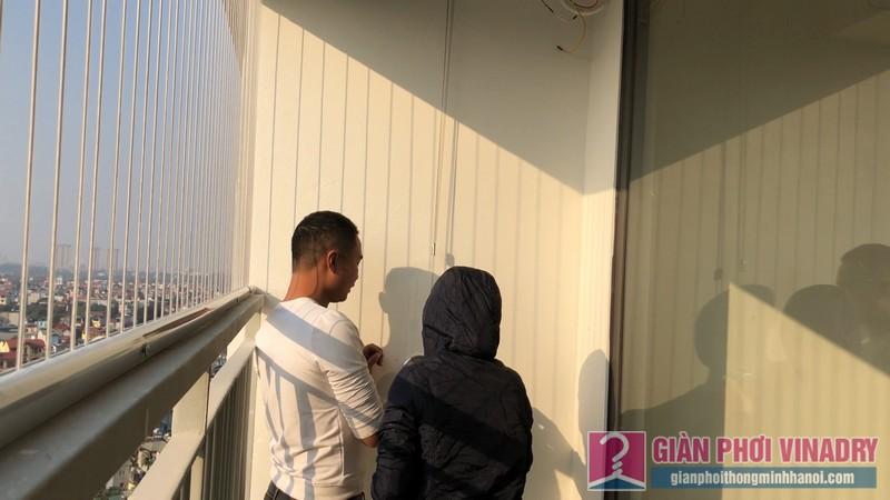 Lắp giàn phơi và lưới an toàn nhà chị Hồng,chung cư FLC Garden Đại Mỗ, Nam Từ Liêm, Hà Nội - 13