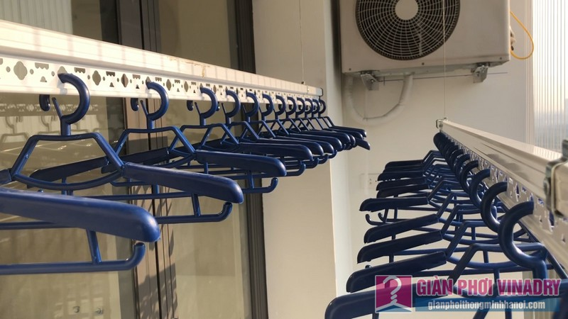 Lắp giàn phơi và lưới an toàn nhà chị Hồng,chung cư FLC Garden Đại Mỗ, Nam Từ Liêm, Hà Nội - 15