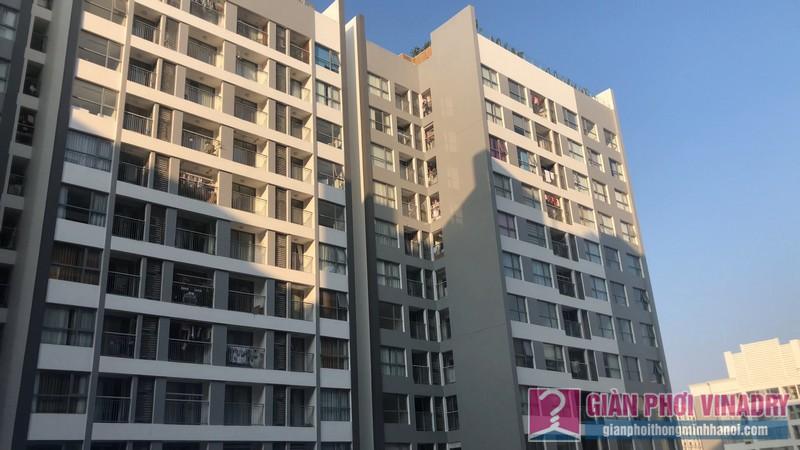 Khu chung cư cao cấp Park 11, Park Hill Times City nơi gia đình anh Hội sinh sống