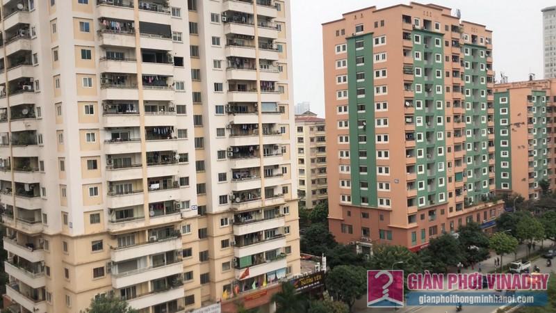 Bạn có nhận ra sự khác biệt về không gian phơi của các gia đình tại chung cư ct3 Nguyễn Cơ Thạch?