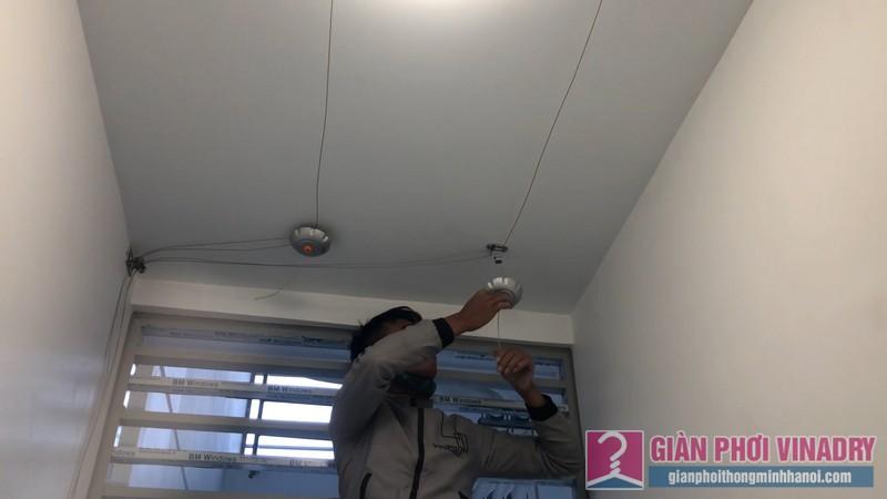 Lắp giàn phơi tay quay liền GP950 nhà chị Huyền, chung cư Vinhome Gardenia Mỹ Đình - 02