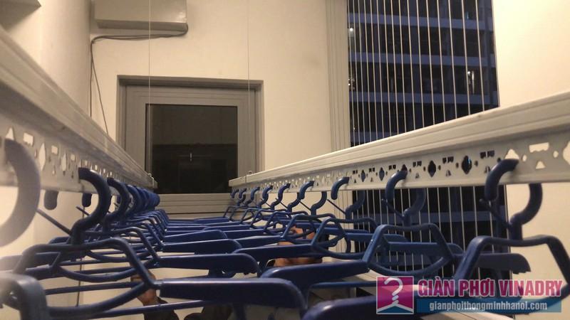 Lắp giàn phơi bấm điện AE711 nhà anh Hội, Park 11, Park Hill Times City - 09