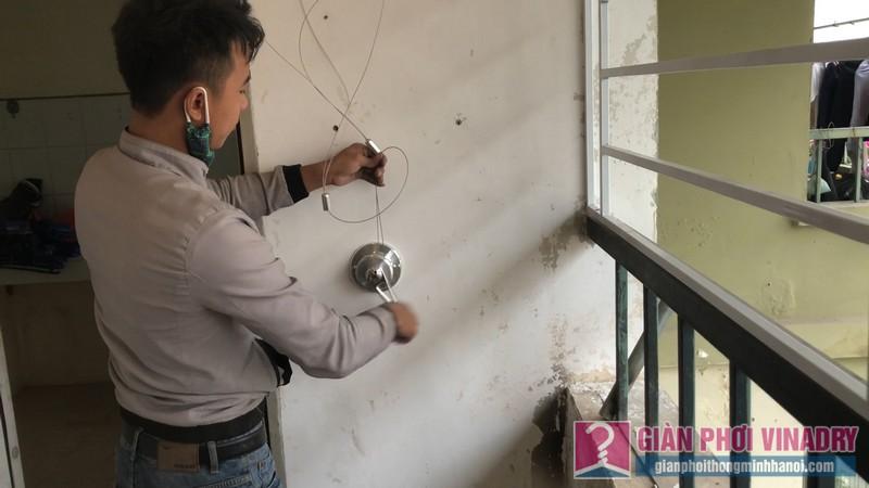 Lắp giàn phơi thông minh nhà anh Thịnh, chung cư CT3A Nguyễn Cơ Thạch, KĐT Mỹ Đình II, Nam Từ Liêm, Hà Nội - 05