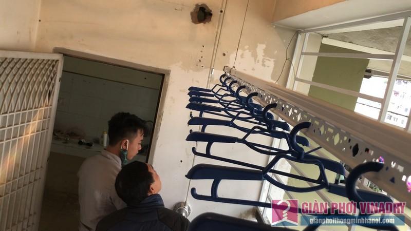 Lắp giàn phơi thông minh nhà anh Thịnh, chung cư CT3A Nguyễn Cơ Thạch, KĐT Mỹ Đình II, Nam Từ Liêm, Hà Nội - 10