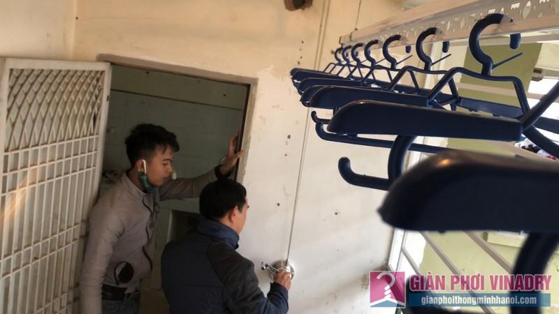 Lắp giàn phơi thông minh nhà anh Thịnh, chung cư CT3A Nguyễn Cơ Thạch, KĐT Mỹ Đình II, Nam Từ Liêm, Hà Nội - 11