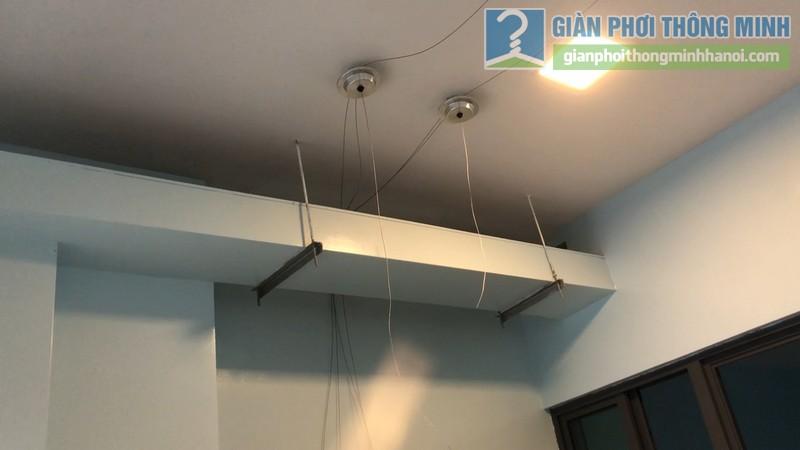 Lắp giàn phơi thông minh nhà chị Hường, tòa B chung cư Mulberry Lane, Mỗ Lao, Hà Đông, Hà Nội - 03