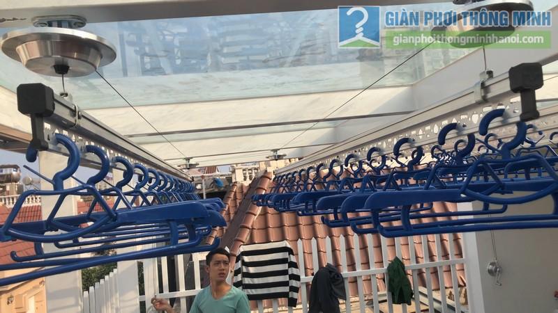 Bộ đôi giàn phơi GP701 được lắp đặt tai nhà chị Hòa, T16 Ciputra Tây Hồ, Hà Nội - 10