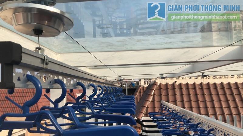 Bộ đôi giàn phơi GP701 được lắp đặt tai nhà chị Hòa, T16 Ciputra Tây Hồ, Hà Nội - 11