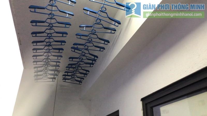 Lắp giàn phơi giá rẻ nhà chị Hằng, tòa A chung cư Hateco Hoàng Mai, Hà Nội - 07