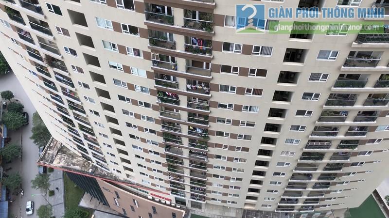 Không gian chung cư V1, Victoria từ góc nhìn ban công nhà anh Công vô cùng đẹp mắt