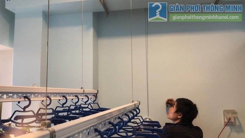 Lắp giàn phơi thông minh nhà chị Hường, tòa B chung cư Mulberry Lane, Mỗ Lao, Hà Đông, Hà Nội - 07