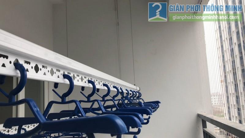 Lắp dàn phơi thông minh nhà chị Xuân, chung cư H02-2A, KĐT Thanh Hà, Thanh Oai, Hà Nội - 08
