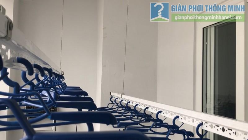 Lắp dàn phơi thông minh nhà chị Xuân, chung cư H02-2A, KĐT Thanh Hà, Thanh Oai, Hà Nội - 09