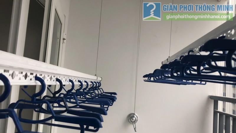 Lắp dàn phơi thông minh nhà chị Xuân, chung cư H02-2A, KĐT Thanh Hà, Thanh Oai, Hà Nội - 11
