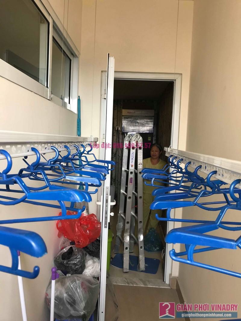 Lắp giàn phơi 950 nhà cô Mùi, chung cư Hòa Bình Green City, 505 Minh Khai, Hai bà Trưng - 02
