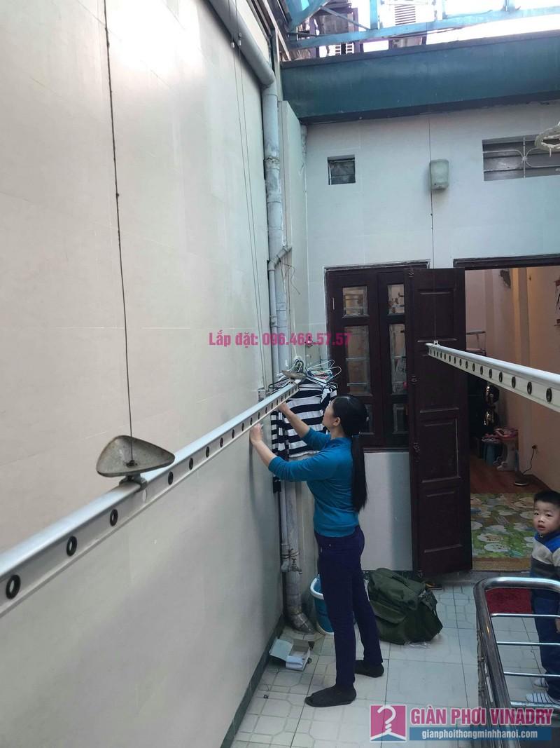 Sửa giàn phơi nhà chị Thúy, 12 Hàng Bài, Hoàn Kiếm, Hà Nội - 03