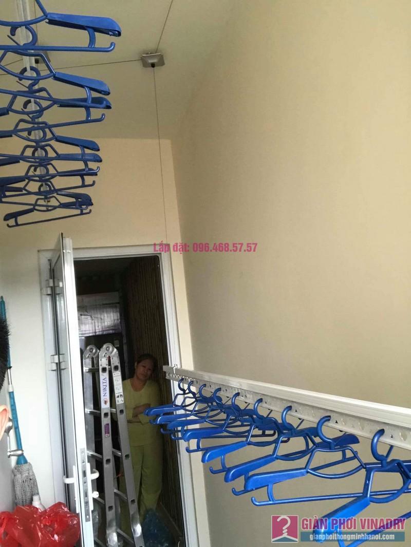 Lắp giàn phơi 950 nhà cô Mùi, chung cư Hòa Bình Green City, 505 Minh Khai, Hai bà Trưng - 04