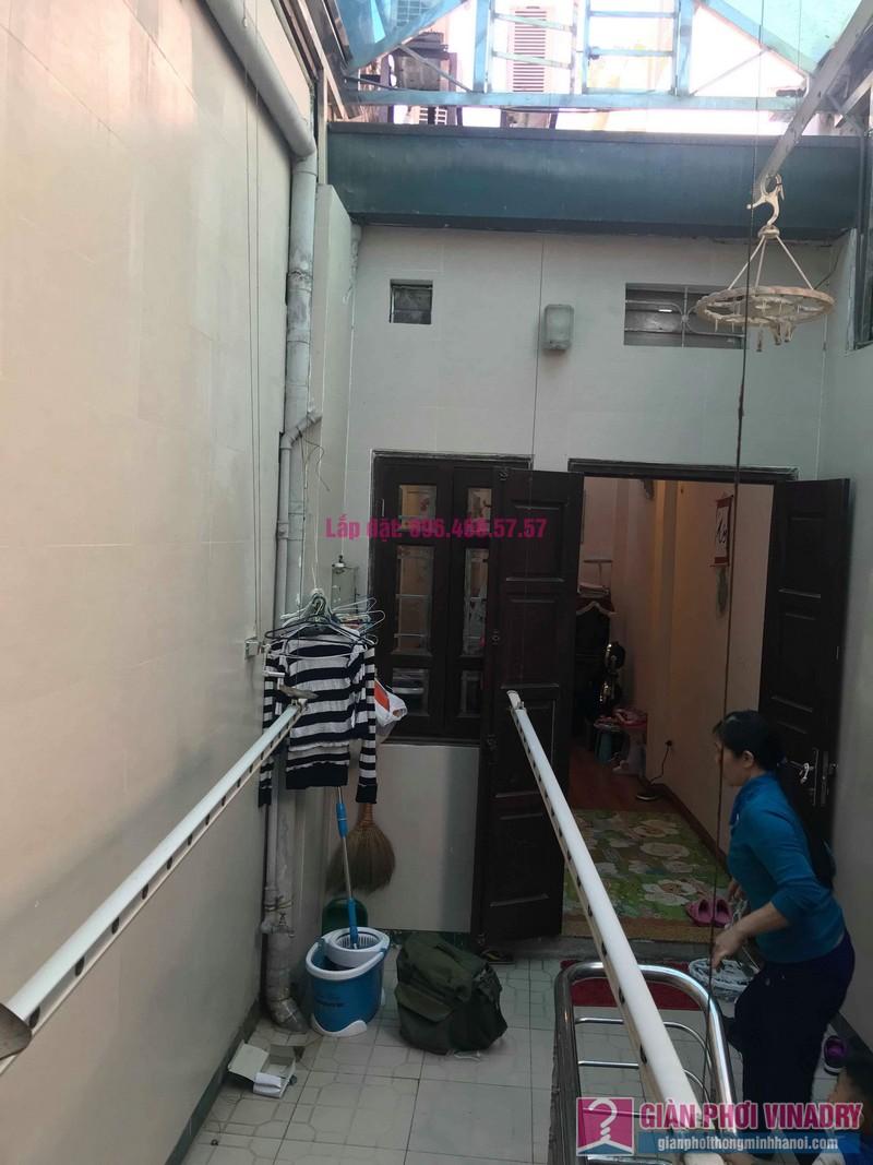 Sửa giàn phơi nhà chị Thúy, 12 Hàng Bài, Hoàn Kiếm, Hà Nội - 05