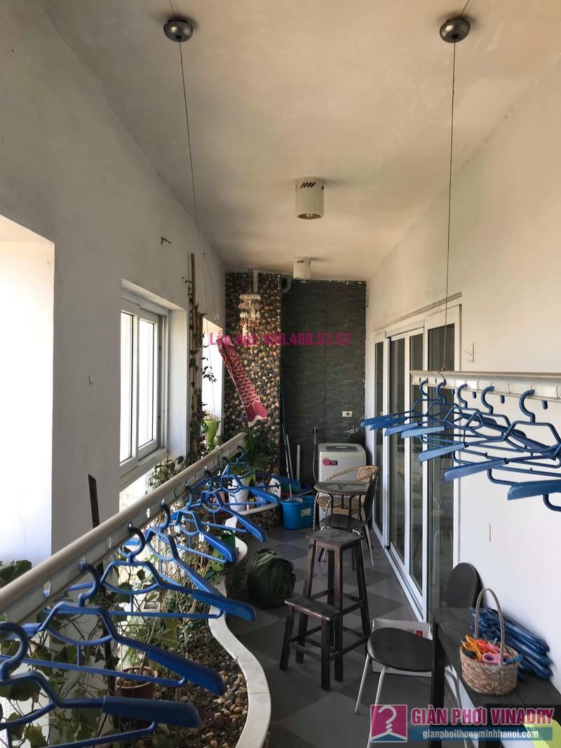 Sửa giàn phơi Tây Hồ, nhà chị Thiện, chung cư Vườn Đào, Tây Hồ, Hà Nội - 05