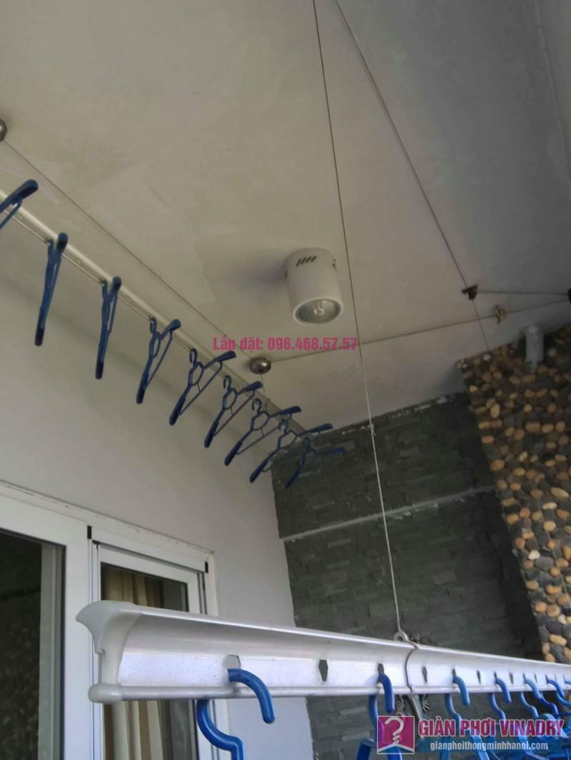 Sửa giàn phơi Tây Hồ, nhà chị Thiện, chung cư Vườn Đào, Tây Hồ, Hà Nội - 06