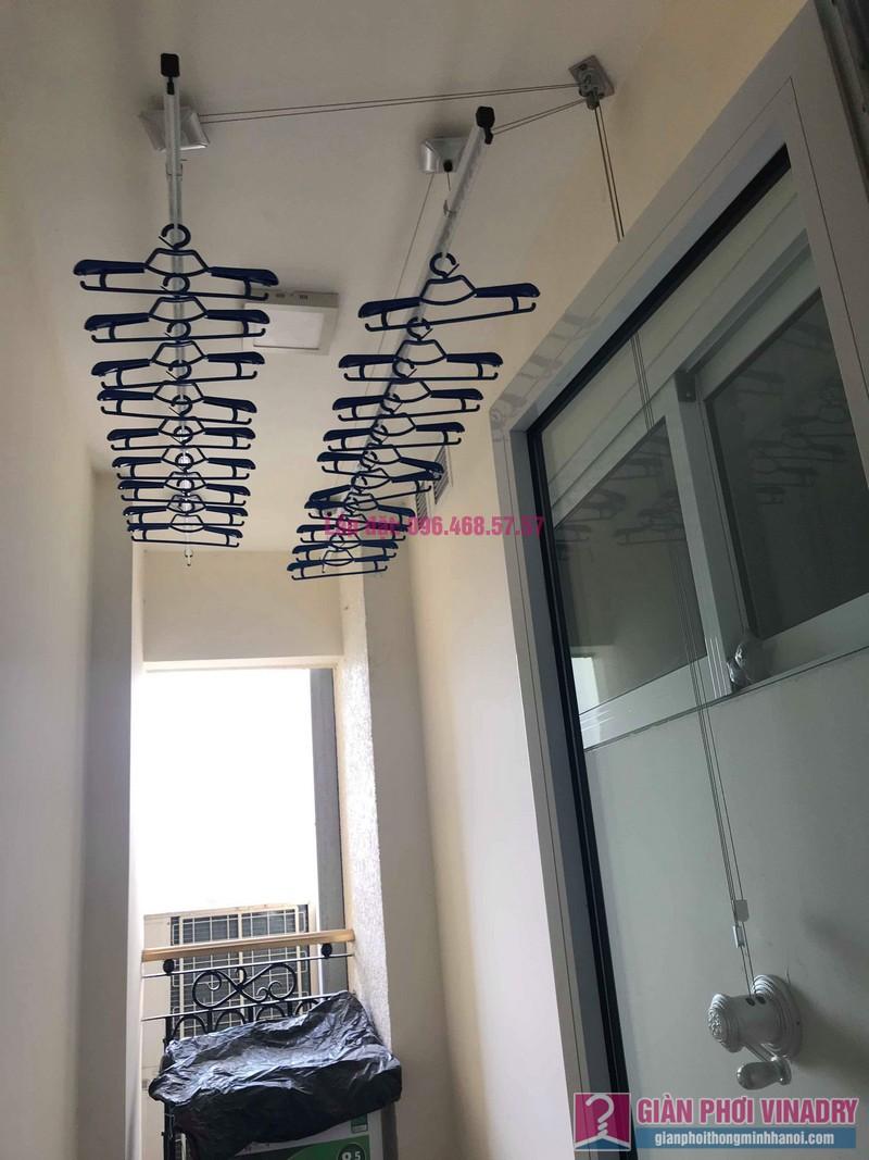 Lắp giàn phơi 950 nhà cô Mùi, chung cư Hòa Bình Green City, 505 Minh Khai, Hai bà Trưng - 06