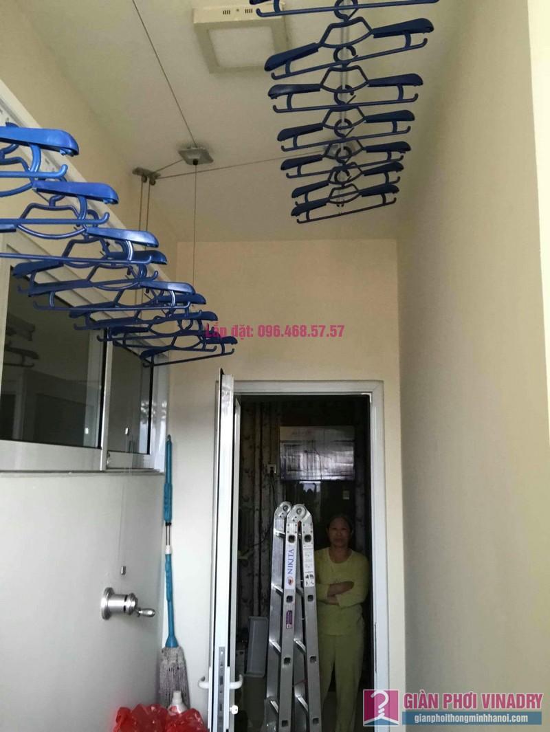 Lắp giàn phơi 950 nhà cô Mùi, chung cư Hòa Bình Green City, 505 Minh Khai, Hai bà Trưng - 07