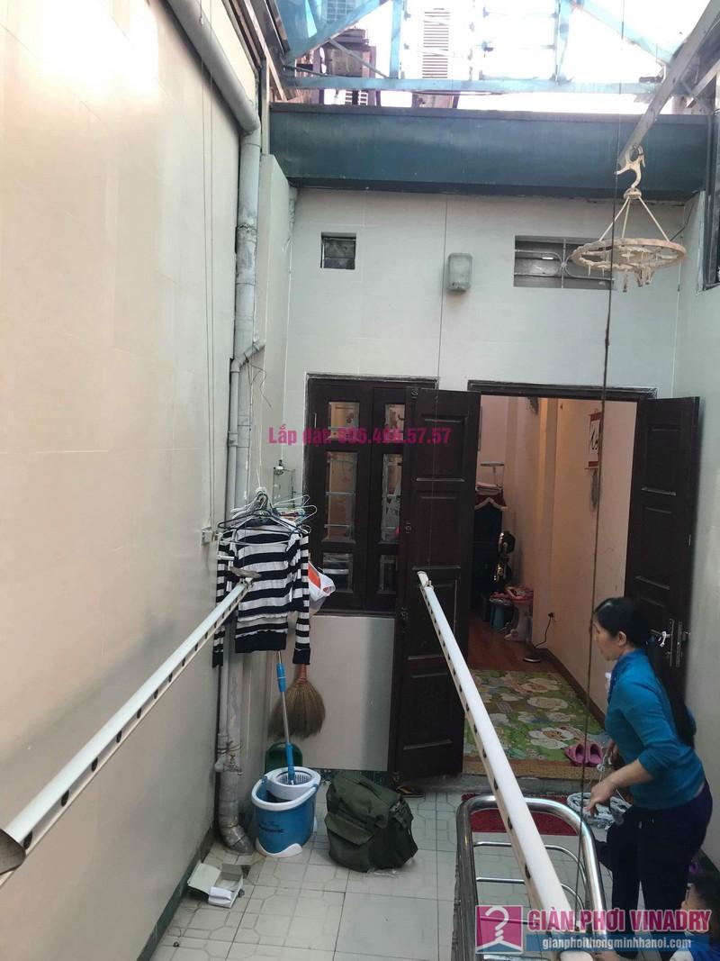 Sửa giàn phơi nhà chị Thúy, 12 Hàng Bài, Hoàn Kiếm, Hà Nội - 08