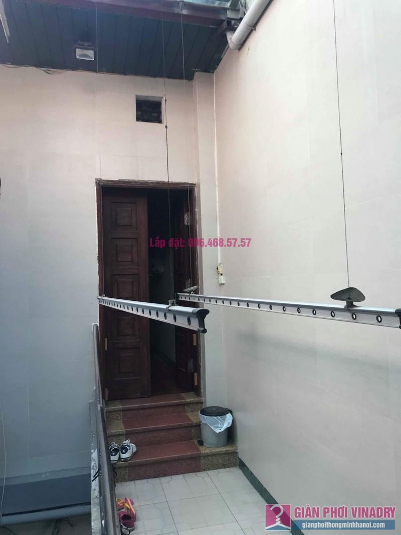 Sửa giàn phơi nhà chị Thúy, 12 Hàng Bài, Hoàn Kiếm, Hà Nội - 09