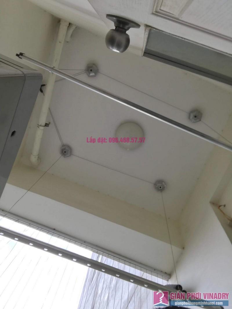 Sửa giàn phơi nhà chị Nguyên, chung cư Athena Complex, Nam Từ Liêm, Hà Nội - 01