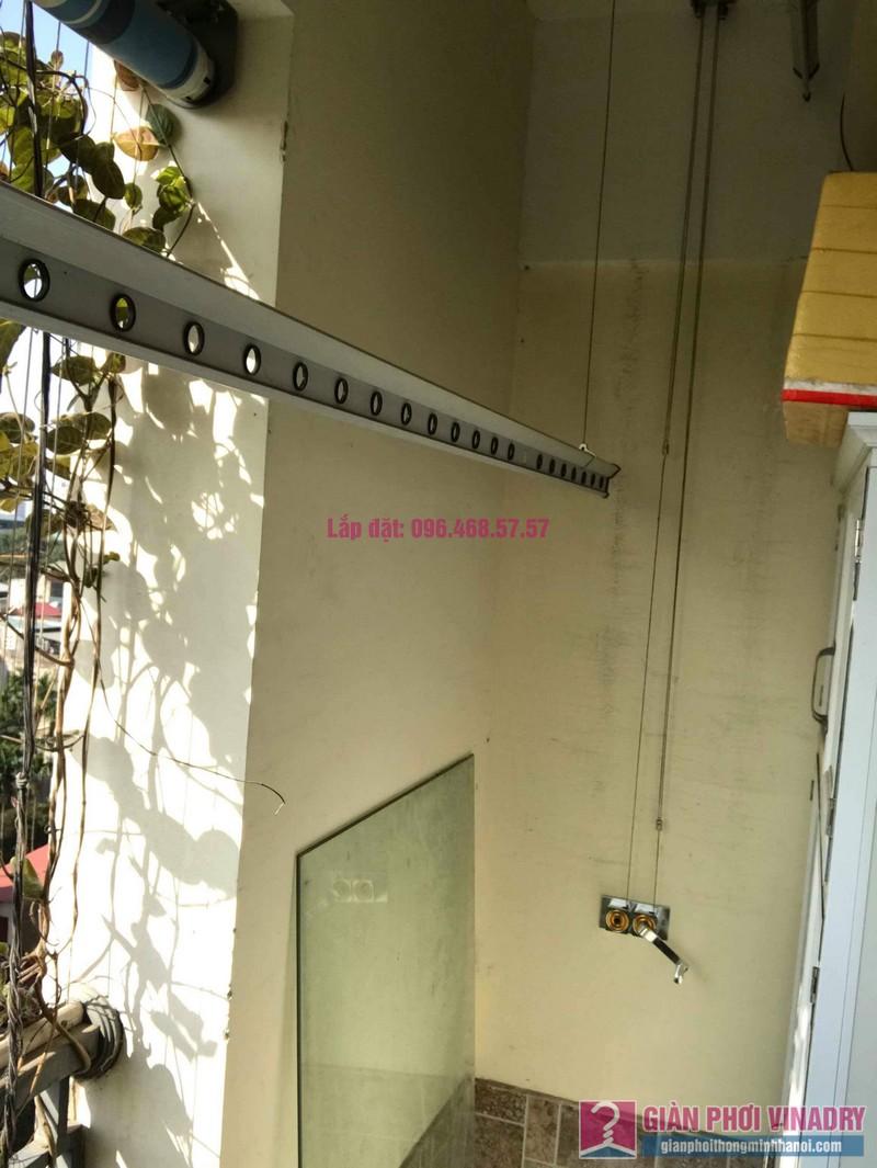 Sửa giàn phơi nhà anh chính, chung cư Nam Đô Complex, Hoàng Mai, Hà Nội - 01