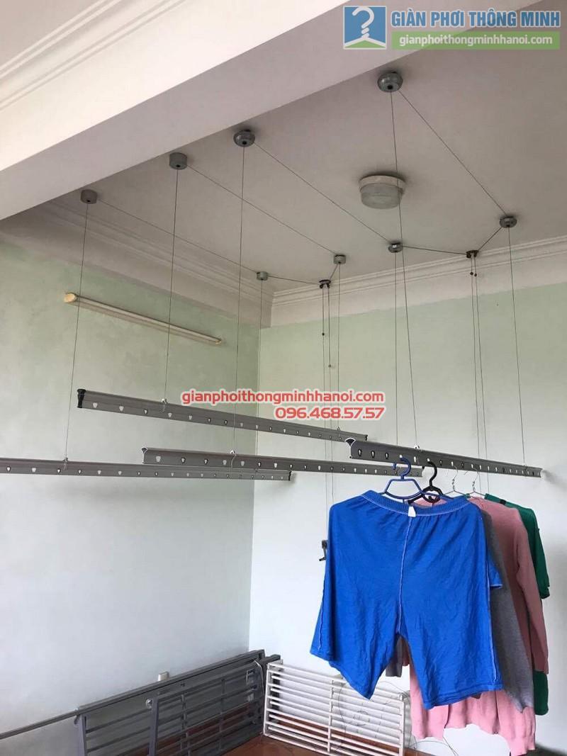 Sửa giàn phơi thông minh nhà anh Hạnh, ngõ 5 Láng Hạ, Đống Đa, Hà Nội - 01