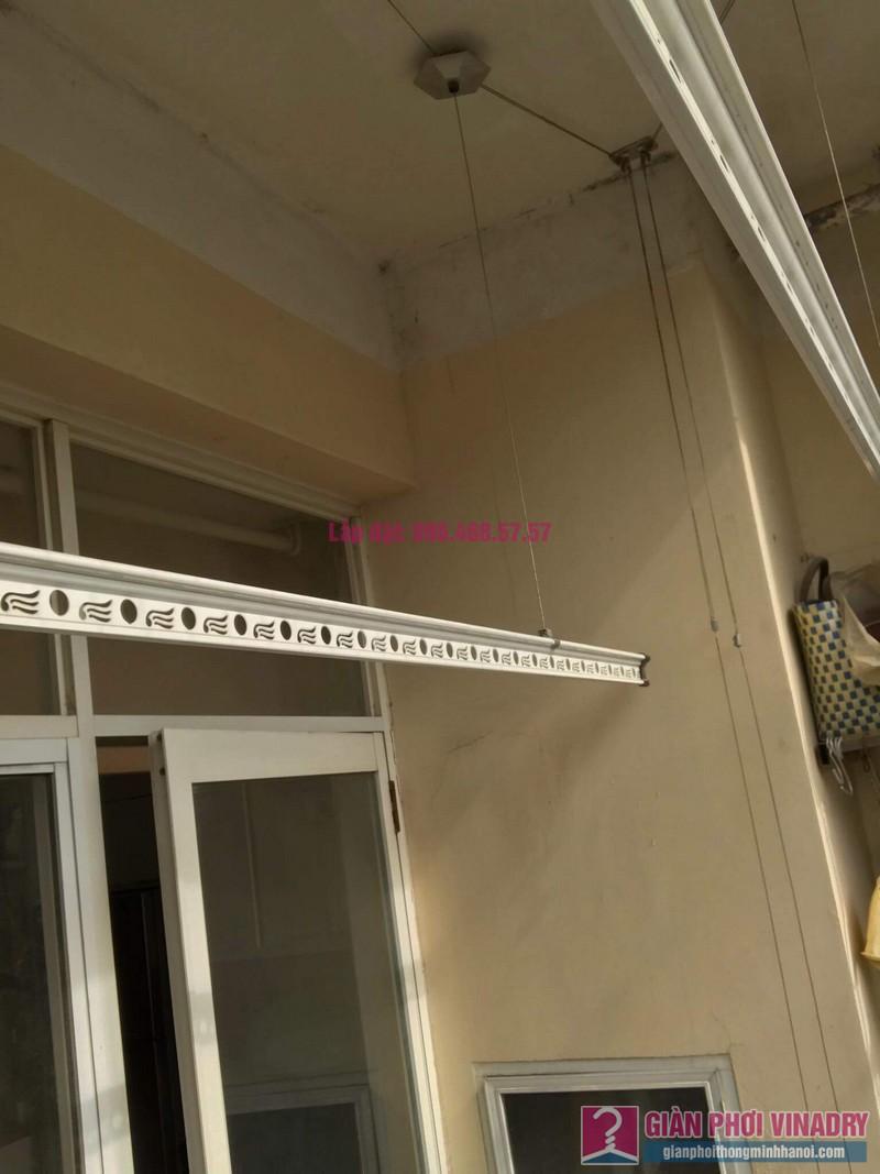 Lắp giàn phơi thông minh 999B, nhà chị Khanh, chung cư N07 B1, Dịch Vọng, Cầu Giấy, Hà Nội - 02
