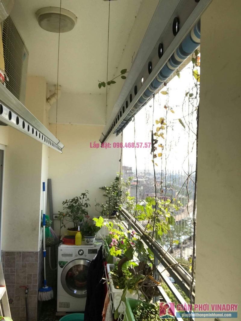 Sửa giàn phơi nhà anh chính, chung cư Nam Đô Complex, Hoàng Mai, Hà Nội - 02