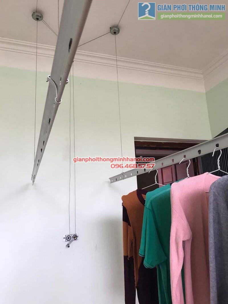 Sửa giàn phơi thông minh nhà anh Hạnh, ngõ 5 Láng Hạ, Đống Đa, Hà Nội - 02