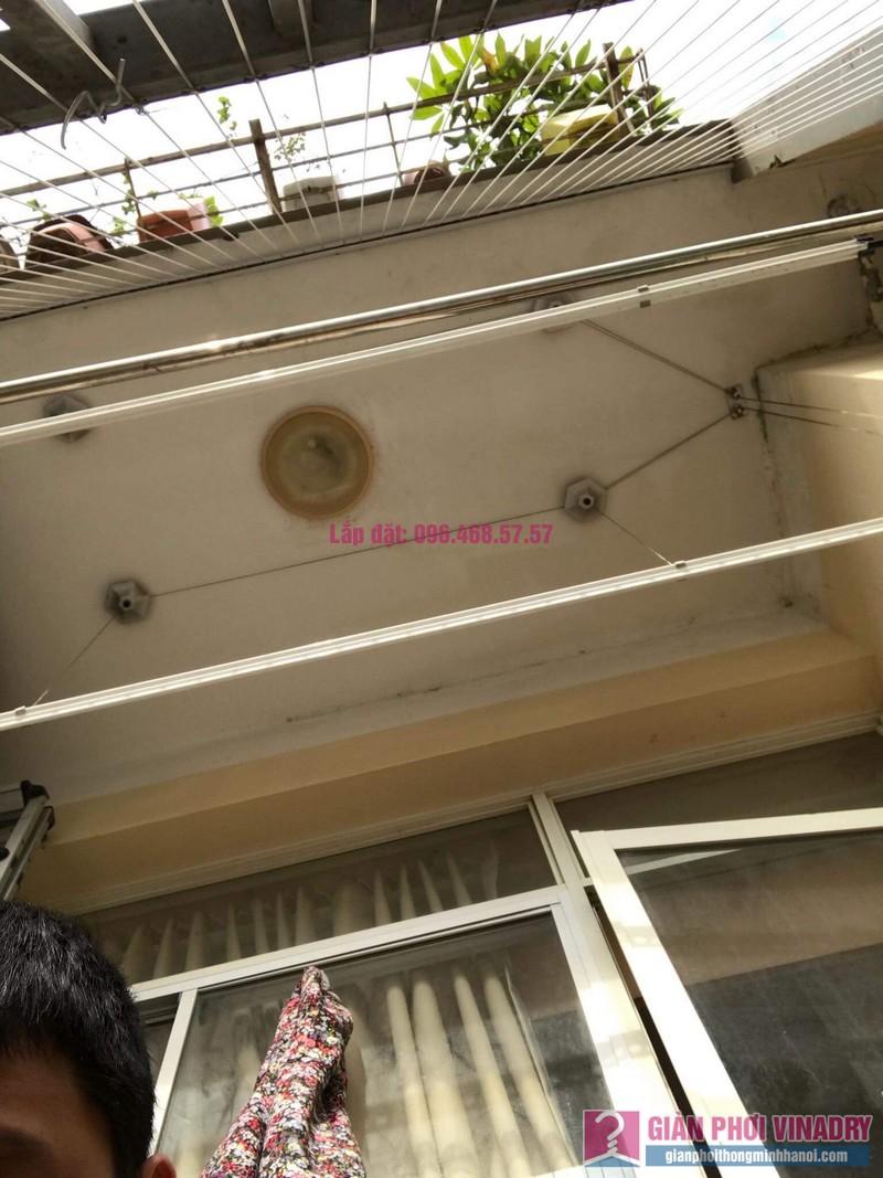Lắp giàn phơi thông minh 999B, nhà chị Khanh, chung cư N07 B1, Dịch Vọng, Cầu Giấy, Hà Nội - 04