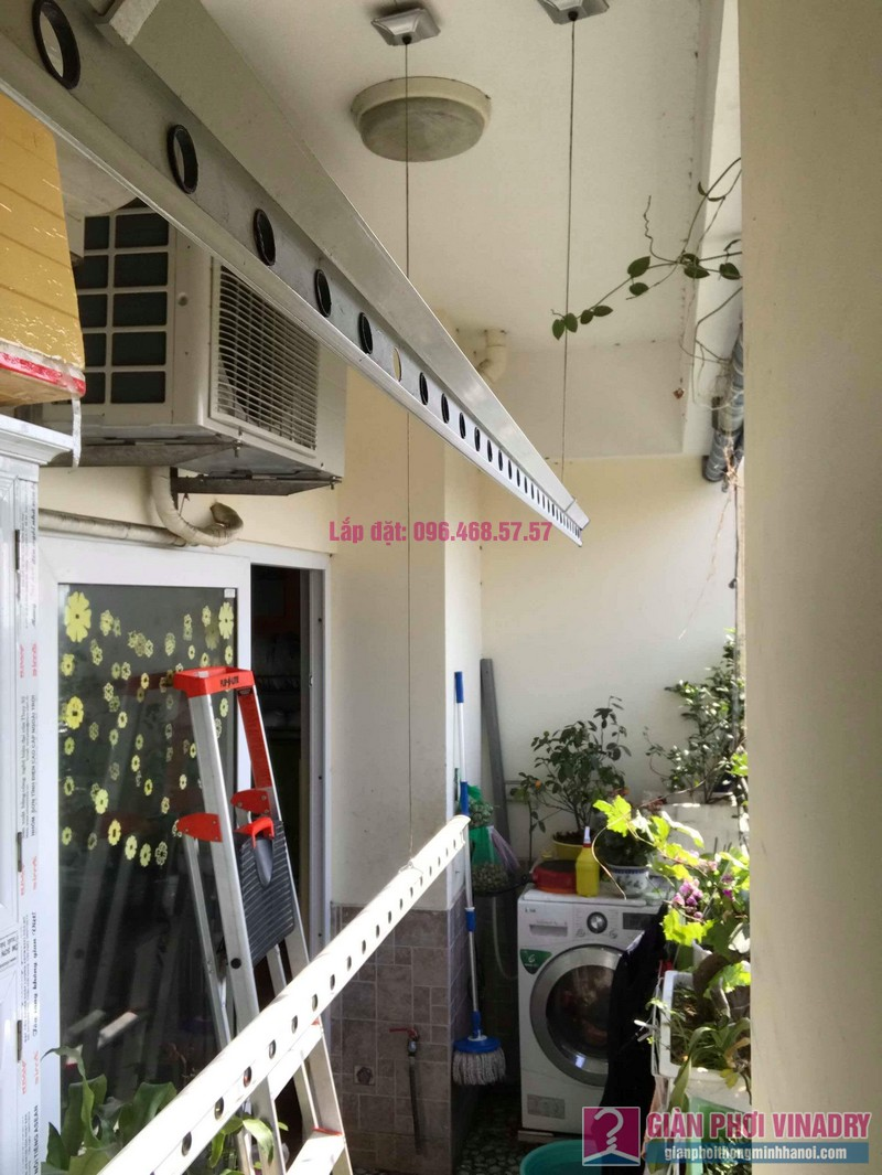 Sửa giàn phơi nhà anh chính, chung cư Nam Đô Complex, Hoàng Mai, Hà Nội - 04