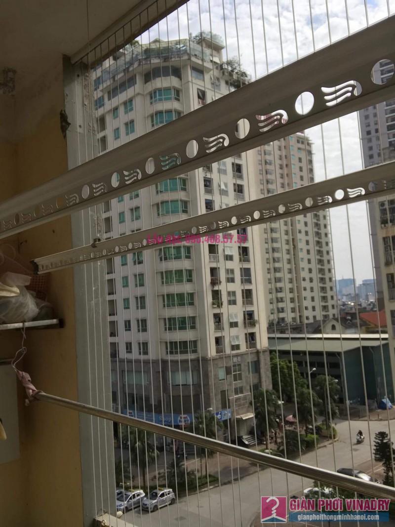 Lắp giàn phơi thông minh 999B, nhà chị Khanh, chung cư N07 B1, Dịch Vọng, Cầu Giấy, Hà Nội - 05