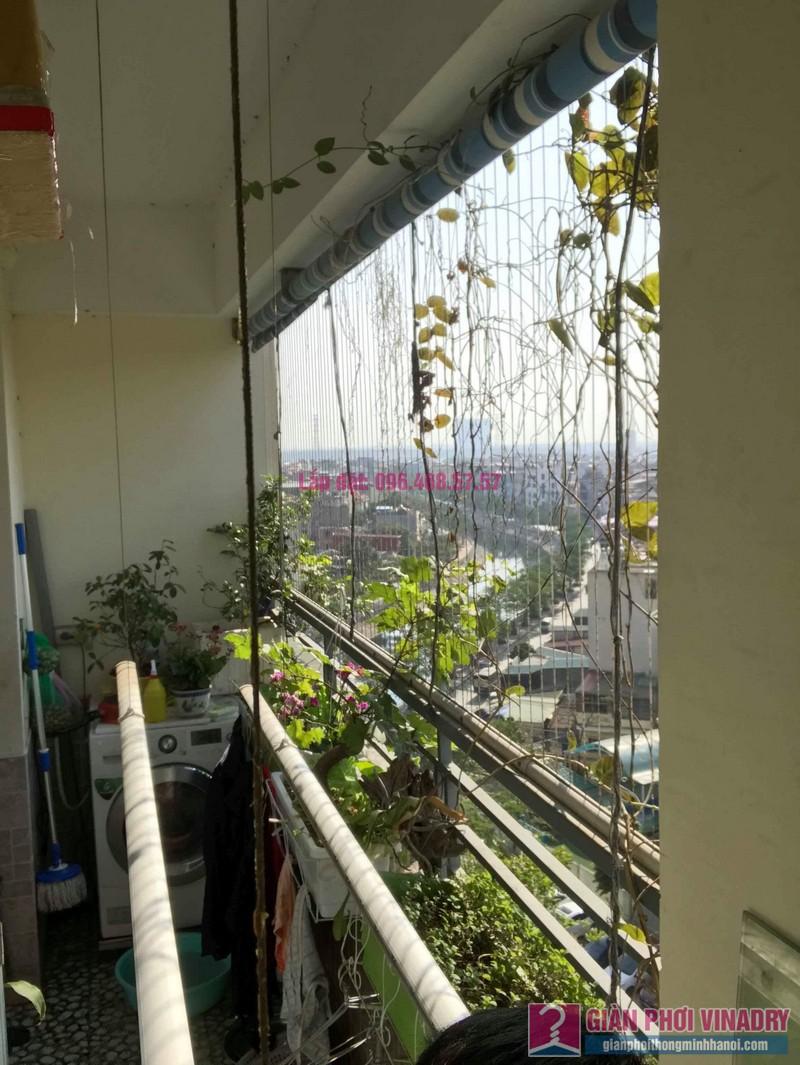 Sửa giàn phơi nhà anh chính, chung cư Nam Đô Complex, Hoàng Mai, Hà Nội - 05