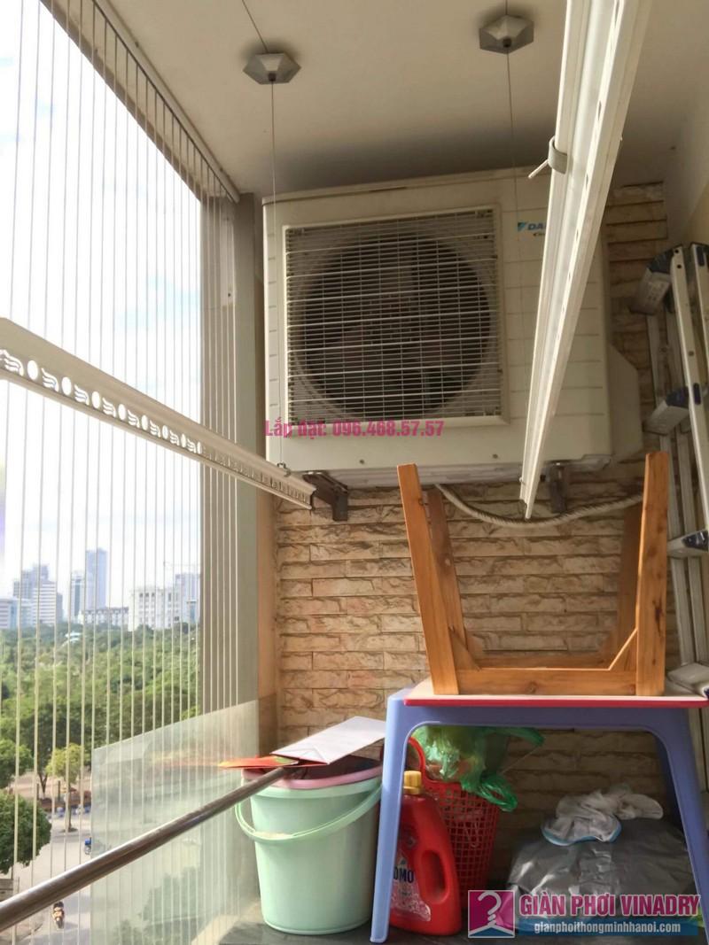 Lắp giàn phơi thông minh 999B, nhà chị Khanh, chung cư N07 B1, Dịch Vọng, Cầu Giấy, Hà Nội - 06