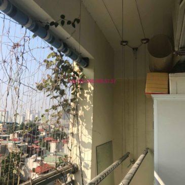 Sửa giàn phơi nhà anh Chính, chung cư Nam Đô Complex, 609 Trương Định, Hoàng Mai, Hà Nội