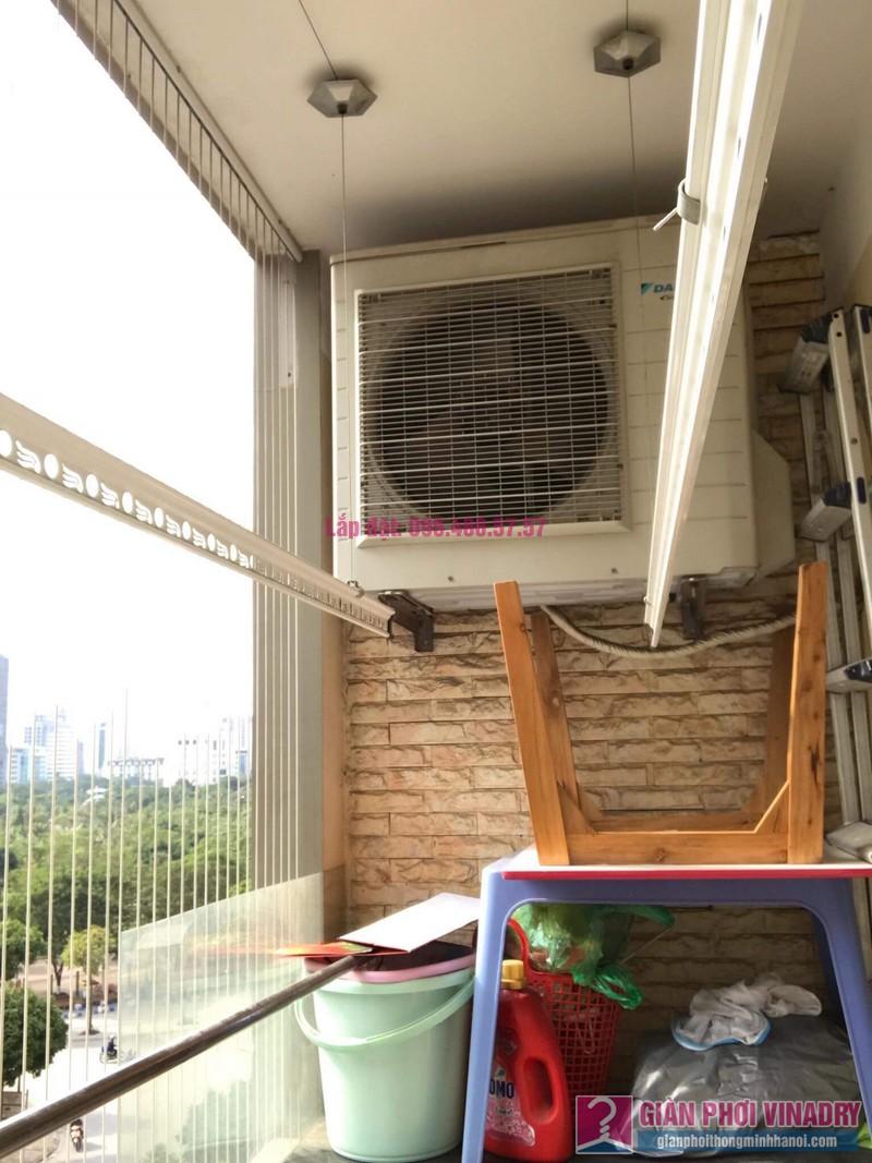 Lắp giàn phơi thông minh 999B, nhà chị Khanh, chung cư N07 B1, Dịch Vọng, Cầu Giấy, Hà Nội - 07