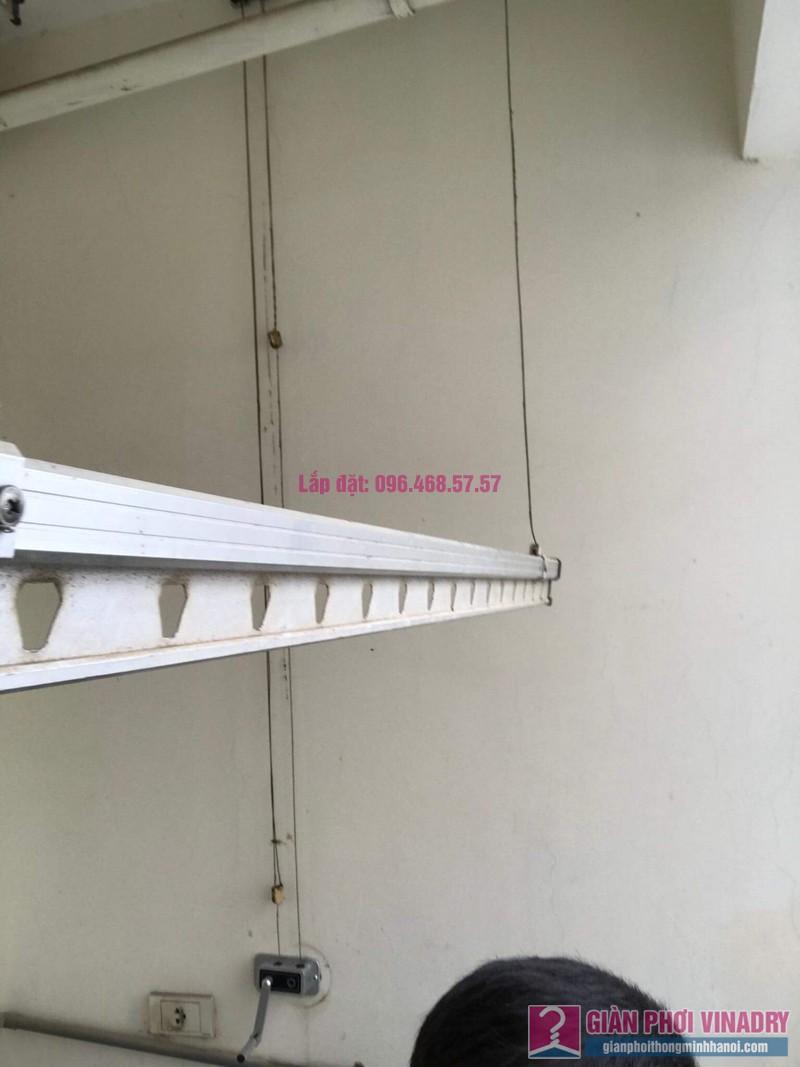 Sửa giàn phơi nhà chị Nguyên, chung cư Athena Complex, Nam Từ Liêm, Hà Nội - 07