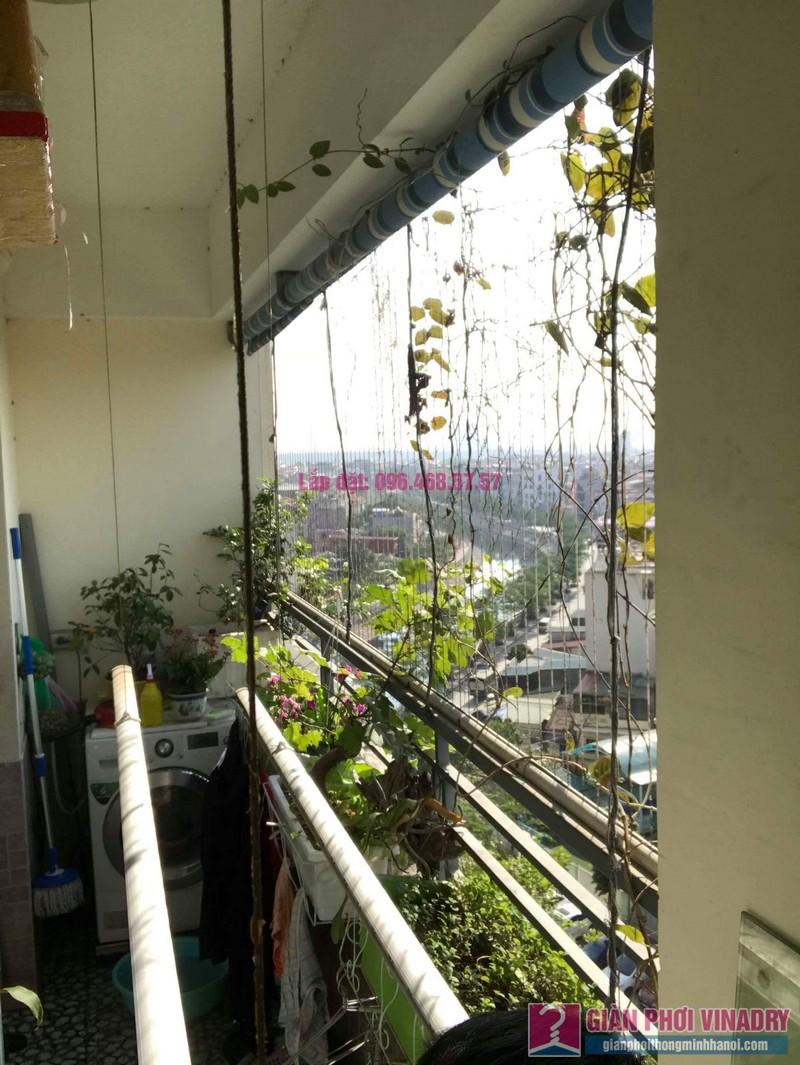 Sửa giàn phơi nhà anh chính, chung cư Nam Đô Complex, Hoàng Mai, Hà Nội - 07