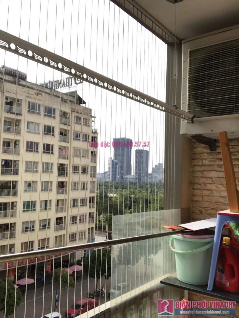 Lắp giàn phơi thông minh 999B, nhà chị Khanh, chung cư N07 B1, Dịch Vọng, Cầu Giấy, Hà Nội - 08