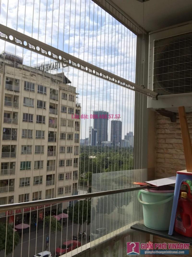 Lắp giàn phơi thông minh 999B, nhà chị Khanh, chung cư N07 B1, Dịch Vọng, Cầu Giấy, Hà Nội - 09