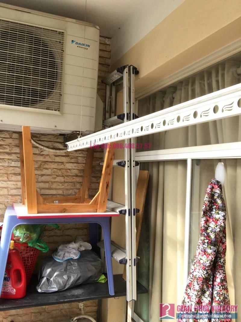 Lắp giàn phơi thông minh 999B, nhà chị Khanh, chung cư N07 B1, Dịch Vọng, Cầu Giấy, Hà Nội - 10